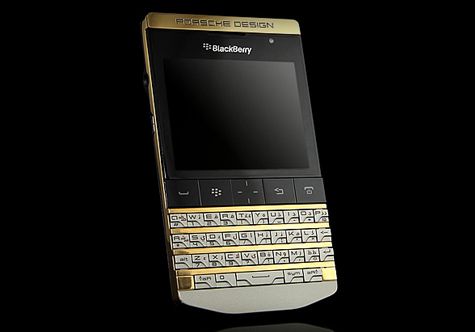 Porsche blackberry gold