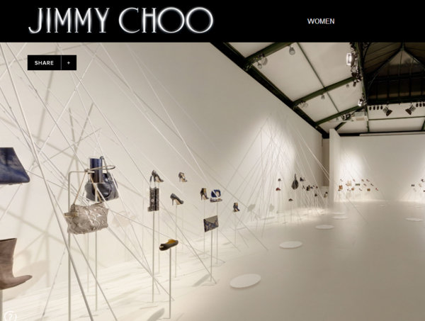 Jimmy Choo Virtual Showroom